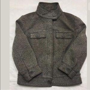 Mossimo Blazer jacket coat buttons Herringbone